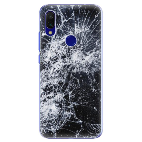 Plastové pouzdro iSaprio - Cracked - Xiaomi Redmi 7