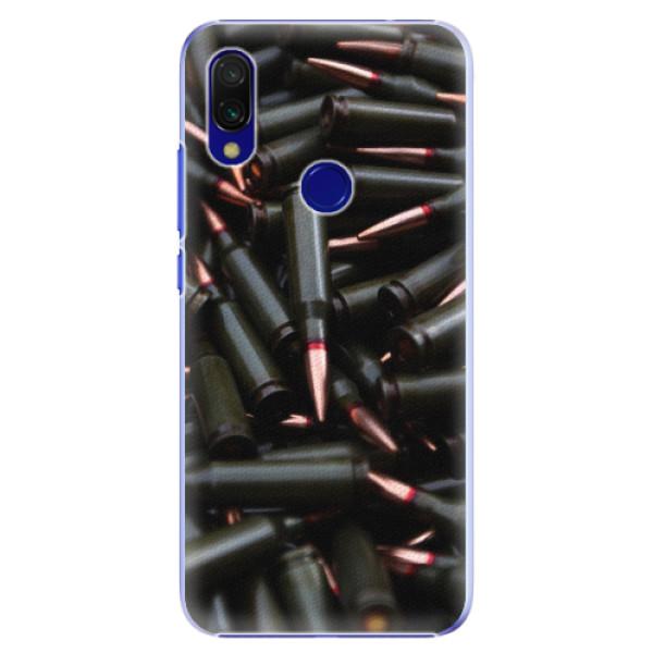 Plastové pouzdro iSaprio - Black Bullet - Xiaomi Redmi 7