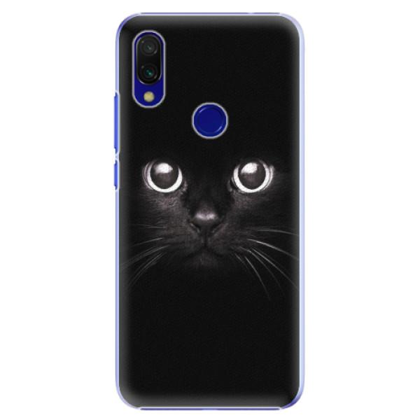 Plastové pouzdro iSaprio - Black Cat - Xiaomi Redmi 7