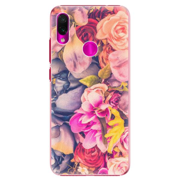 Plastové pouzdro iSaprio - Beauty Flowers - Xiaomi Redmi Note 7