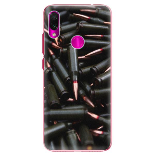 Plastové pouzdro iSaprio - Black Bullet - Xiaomi Redmi Note 7
