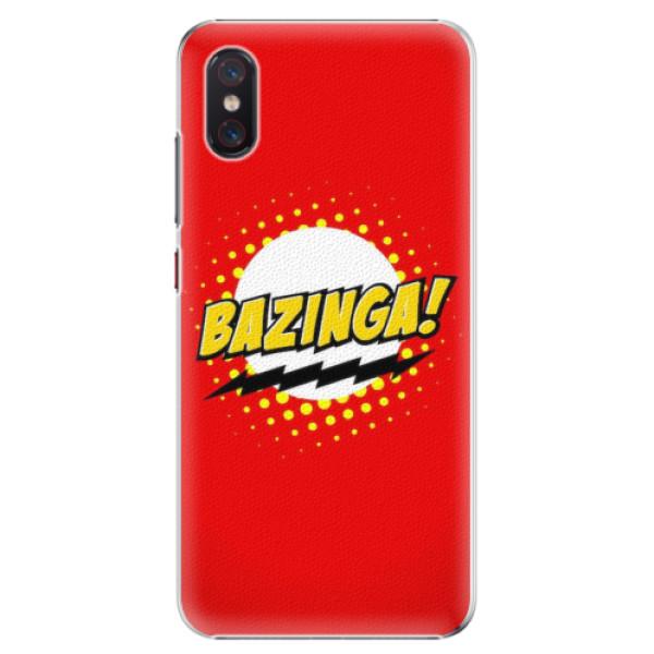 Plastové pouzdro iSaprio - Bazinga 01 - Xiaomi Mi 8 Pro
