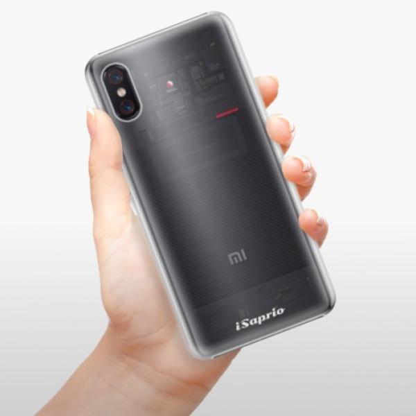 Plastové pouzdro iSaprio - 4Pure - mléčný bez potisku - Xiaomi Mi 8 Pro