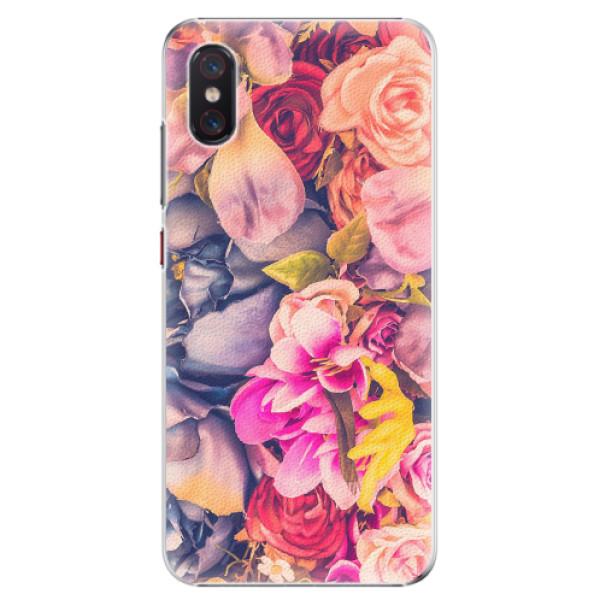 Plastové pouzdro iSaprio - Beauty Flowers - Xiaomi Mi 8 Pro