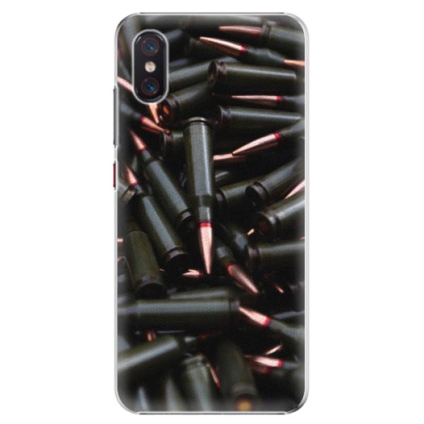 Plastové pouzdro iSaprio - Black Bullet - Xiaomi Mi 8 Pro