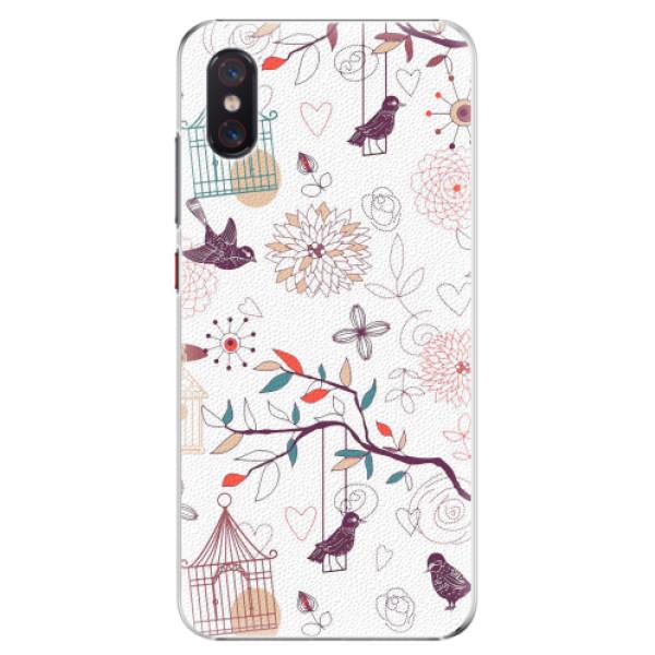 Plastové pouzdro iSaprio - Birds - Xiaomi Mi 8 Pro