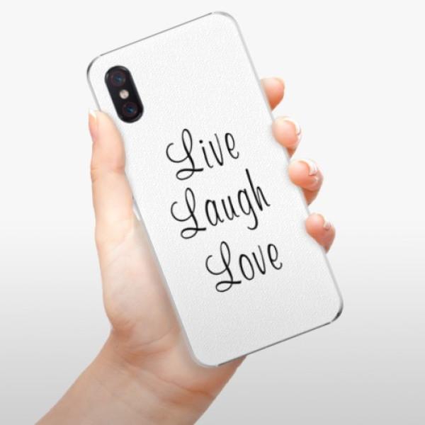 Plastové pouzdro iSaprio - Live Laugh Love - Xiaomi Mi 8 Pro