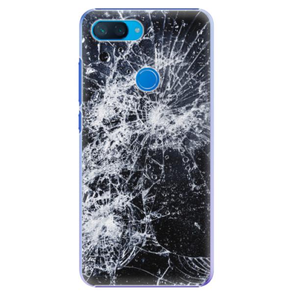 Plastové pouzdro iSaprio - Cracked - Xiaomi Mi 8 Lite