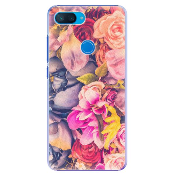 Plastové pouzdro iSaprio - Beauty Flowers - Xiaomi Mi 8 Lite