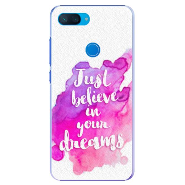 Plastové pouzdro iSaprio - Believe - Xiaomi Mi 8 Lite