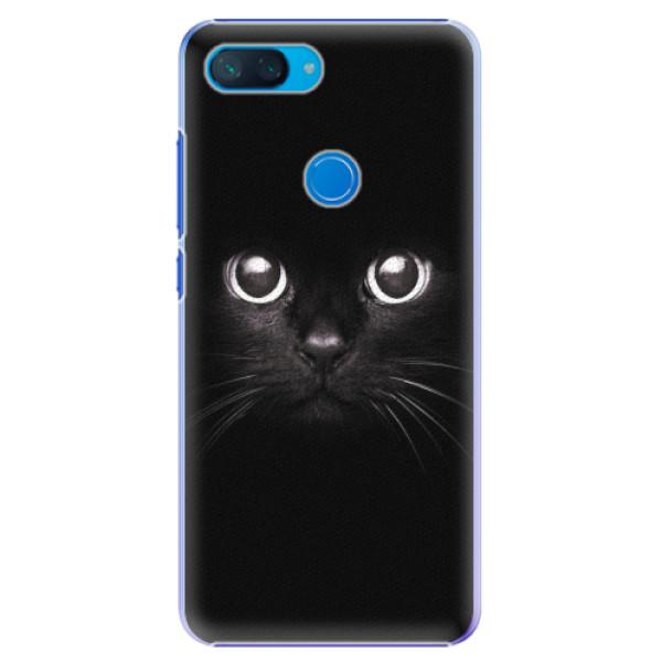 Plastové pouzdro iSaprio - Black Cat - Xiaomi Mi 8 Lite