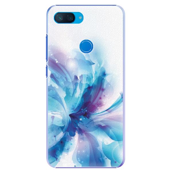 Plastové pouzdro iSaprio - Abstract Flower - Xiaomi Mi 8 Lite
