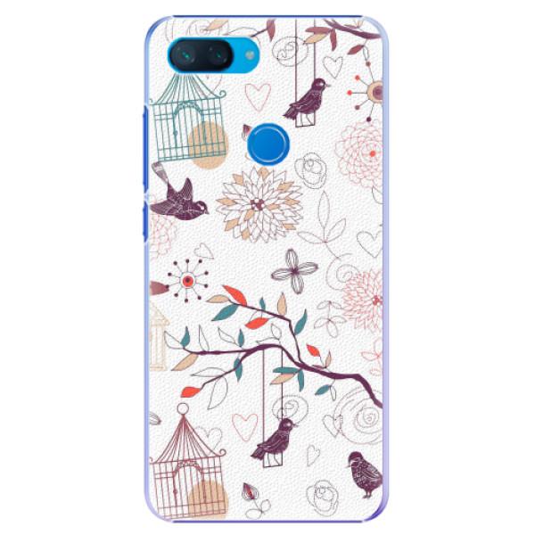 Plastové pouzdro iSaprio - Birds - Xiaomi Mi 8 Lite