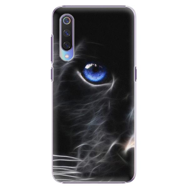 Plastové pouzdro iSaprio - Black Puma - Xiaomi Mi 9
