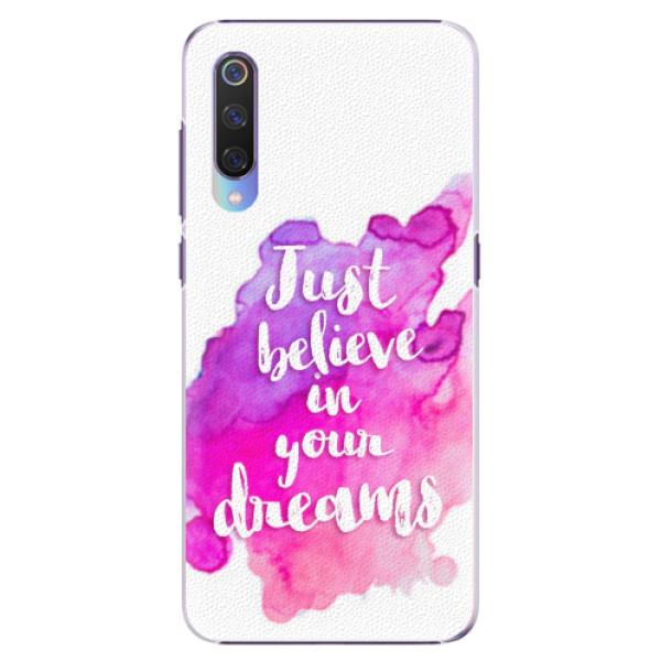 Plastové pouzdro iSaprio - Believe - Xiaomi Mi 9
