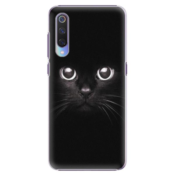 Plastové pouzdro iSaprio - Black Cat - Xiaomi Mi 9