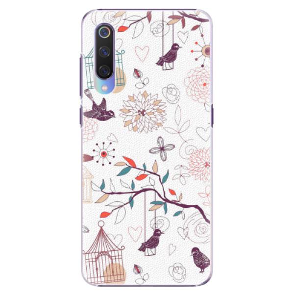 Plastové pouzdro iSaprio - Birds - Xiaomi Mi 9