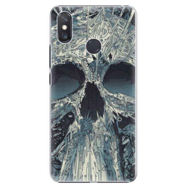 Plastové pouzdro iSaprio - Abstract Skull - Xiaomi Mi Max 3