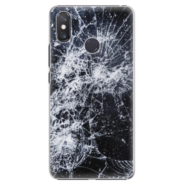 Plastové pouzdro iSaprio - Cracked - Xiaomi Mi Max 3