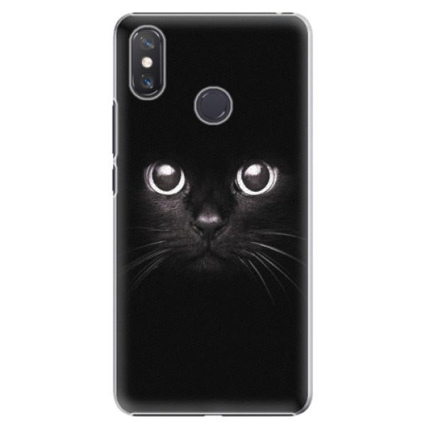 Plastové pouzdro iSaprio - Black Cat - Xiaomi Mi Max 3