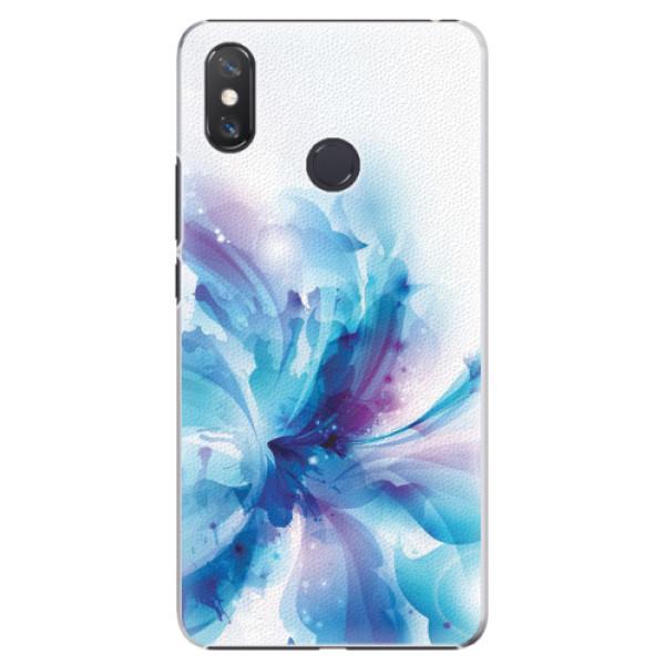 Plastové pouzdro iSaprio - Abstract Flower - Xiaomi Mi Max 3