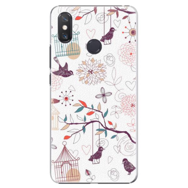 Plastové pouzdro iSaprio - Birds - Xiaomi Mi Max 3