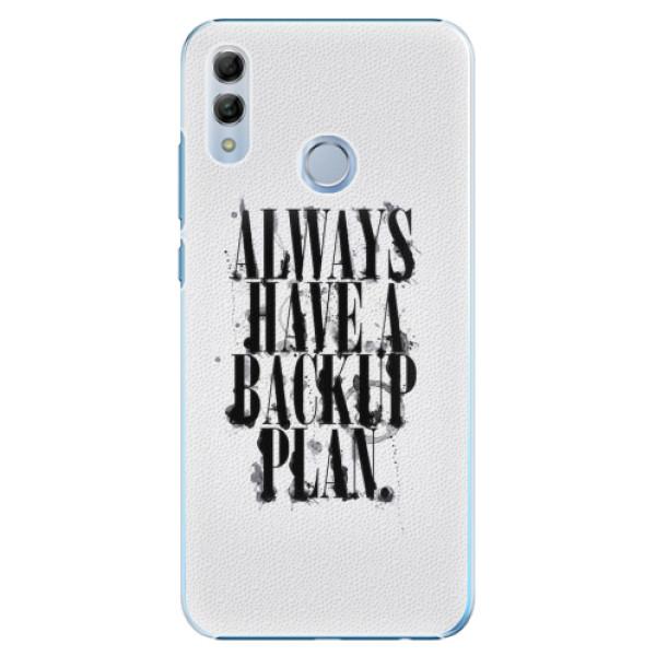 Plastové pouzdro iSaprio - Backup Plan - Huawei Honor 10 Lite