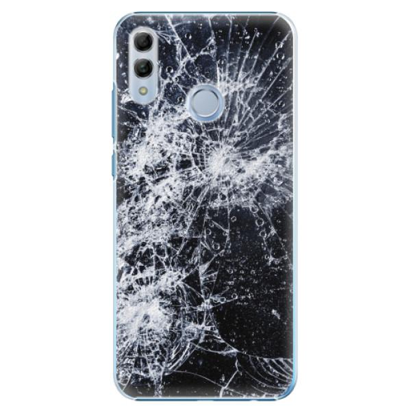 Plastové pouzdro iSaprio - Cracked - Huawei Honor 10 Lite