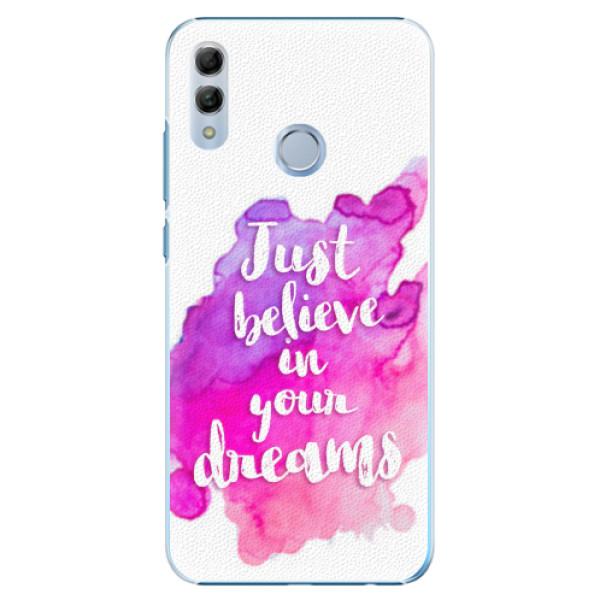 Plastové pouzdro iSaprio - Believe - Huawei Honor 10 Lite
