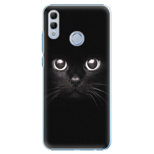 Plastové pouzdro iSaprio - Black Cat - Huawei Honor 10 Lite