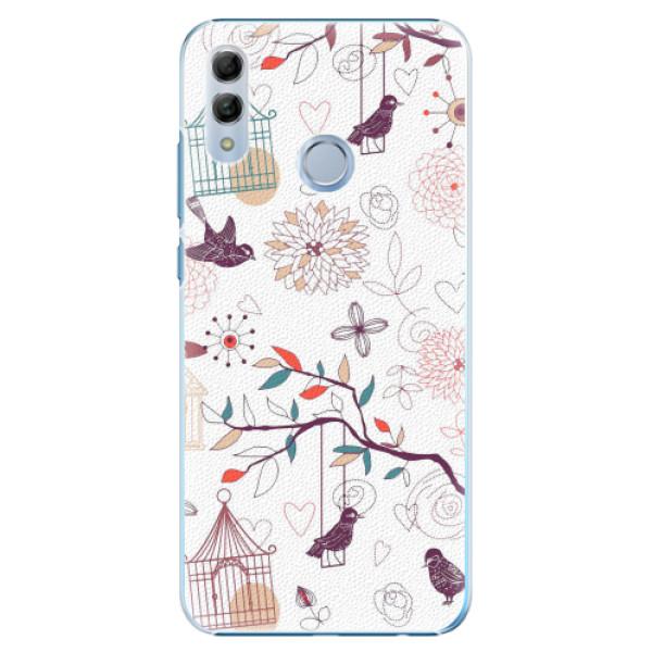 Plastové pouzdro iSaprio - Birds - Huawei Honor 10 Lite