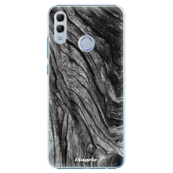Plastové pouzdro iSaprio - Burned Wood - Huawei Honor 10 Lite