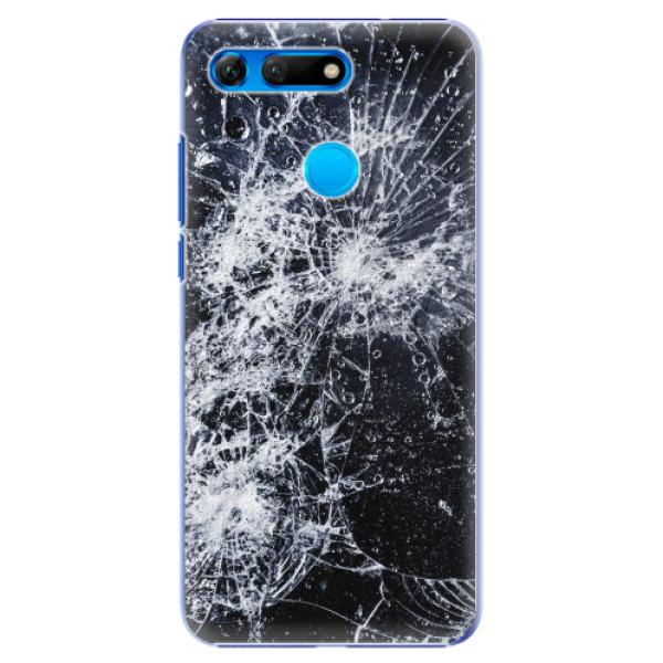 Plastové pouzdro iSaprio - Cracked - Huawei Honor View 20