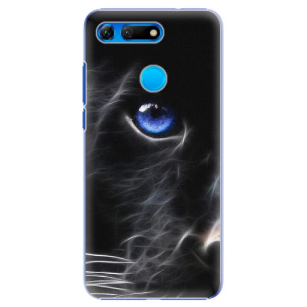 Plastové pouzdro iSaprio - Black Puma - Huawei Honor View 20