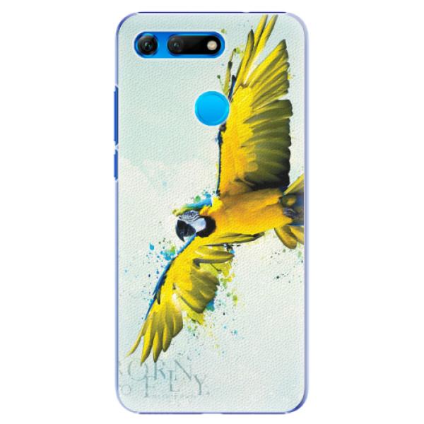 Plastové pouzdro iSaprio - Born to Fly - Huawei Honor View 20