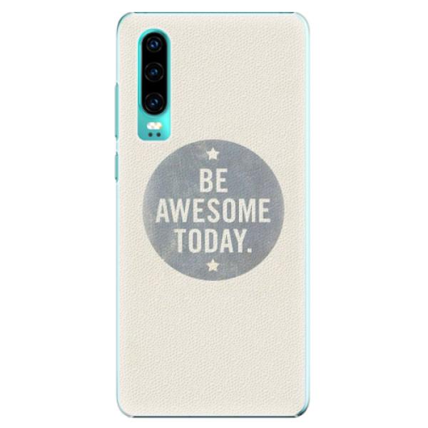 Plastové pouzdro iSaprio - Awesome 02 - Huawei P30