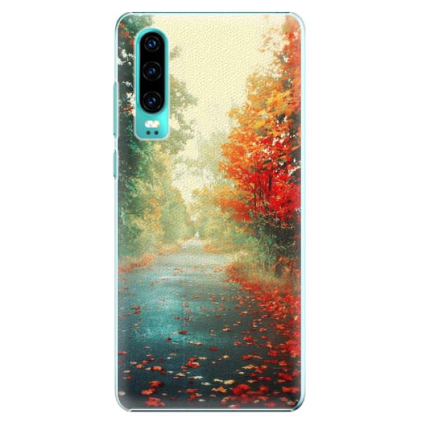Plastové pouzdro iSaprio - Autumn 03 - Huawei P30