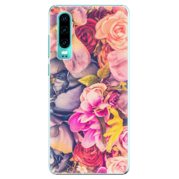 Plastové pouzdro iSaprio - Beauty Flowers - Huawei P30
