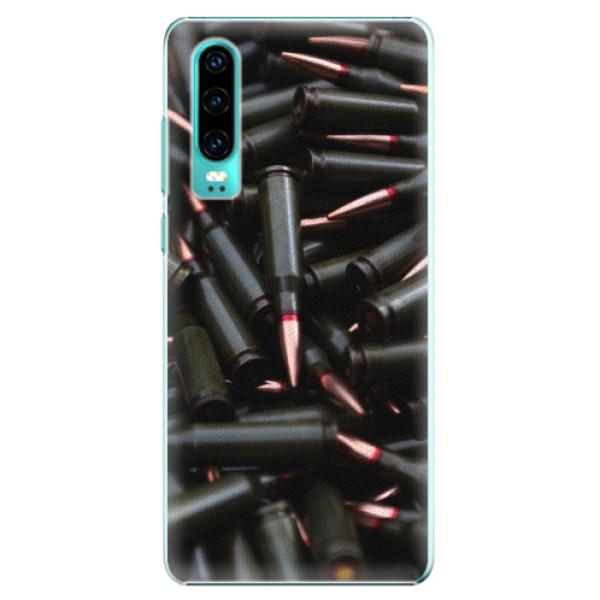 Plastové pouzdro iSaprio - Black Bullet - Huawei P30