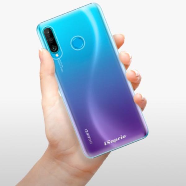 Plastové pouzdro iSaprio - 4Pure - mléčný bez potisku - Huawei P30 Lite
