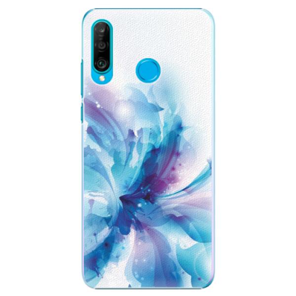 Plastové pouzdro iSaprio - Abstract Flower - Huawei P30 Lite