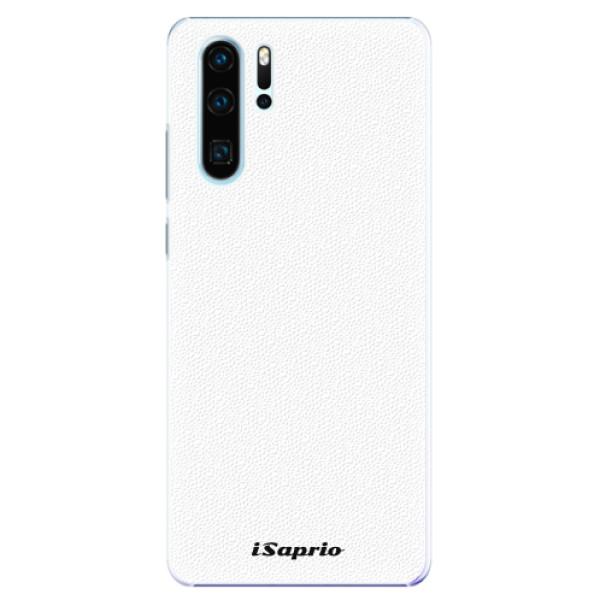 Plastové pouzdro iSaprio - 4Pure - bílý - Huawei P30 Pro