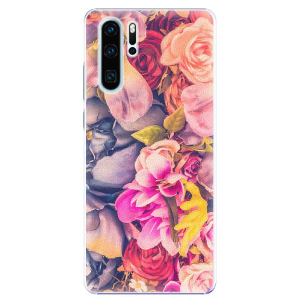 Plastové pouzdro iSaprio - Beauty Flowers - Huawei P30 Pro
