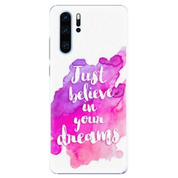 Plastové pouzdro iSaprio - Believe - Huawei P30 Pro