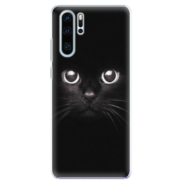 Plastové pouzdro iSaprio - Black Cat - Huawei P30 Pro