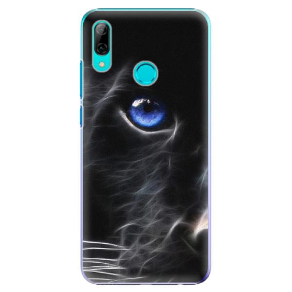 Plastové pouzdro iSaprio - Black Puma - Huawei P Smart 2019