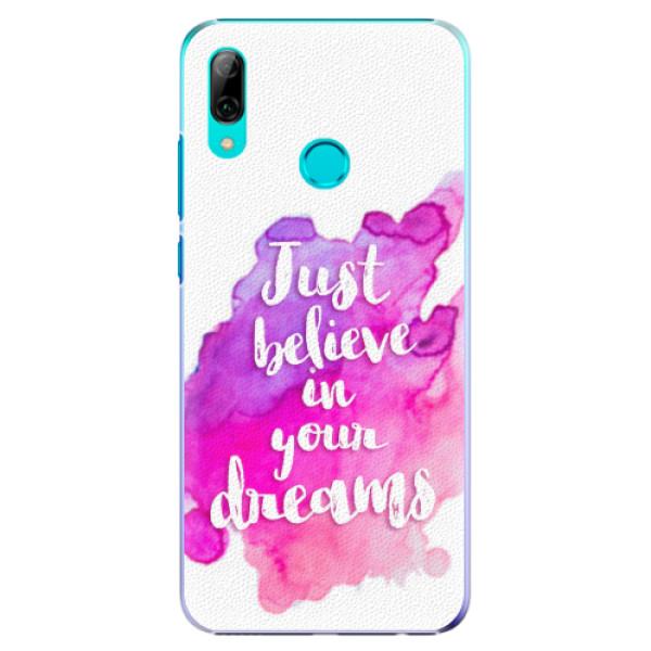 Plastové pouzdro iSaprio - Believe - Huawei P Smart 2019