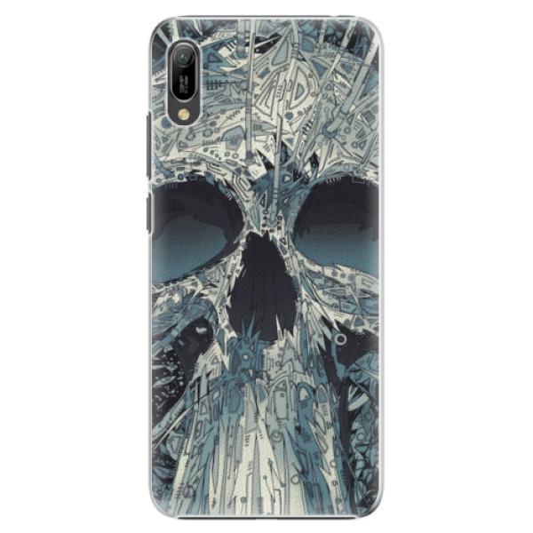 Plastové pouzdro iSaprio - Abstract Skull - Huawei Y6 2019