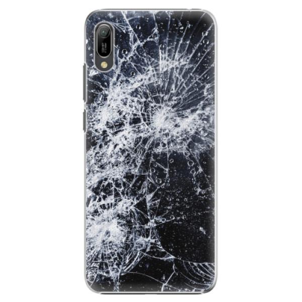 Plastové pouzdro iSaprio - Cracked - Huawei Y6 2019