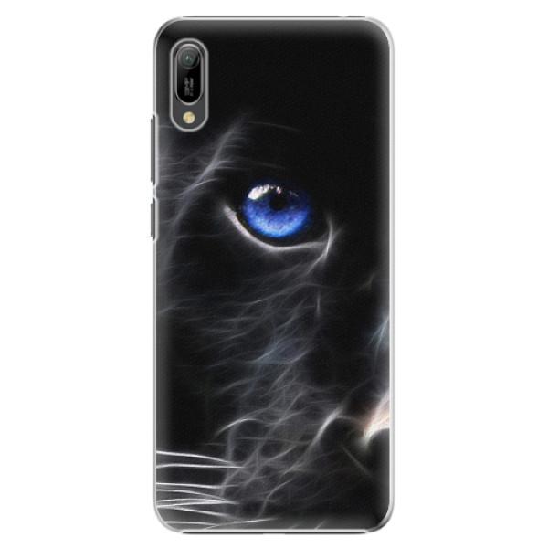 Plastové pouzdro iSaprio - Black Puma - Huawei Y6 2019